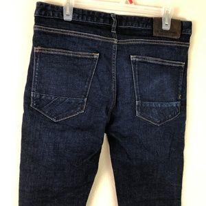 Scotch & Soda Jeans - Scotch & Soda Jeans Skinny Sz 33 Dark Wash Blue